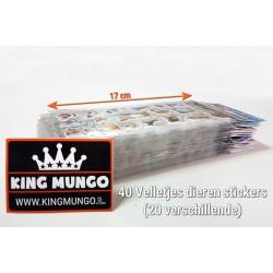 Stickers 40 Vellen Dieren | 750 Stuks Voor Kinderen | 3D Foam Paarden Katten Vlinders | KMST009