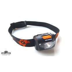 LED Hoofdlamp Zwart - Incl. Batterijen - 160 lumen - waterafstotend en comfortabele hoofdband