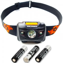 LED Hoofdlamp Zwart - Incl....