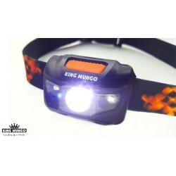 LED hoofdlampen, set van 2 stuks - Lichtgewicht hoofdlampen in voordeel combi-set - KMHL008