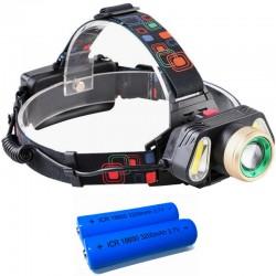 LED Hoofdlamp | 3-dubbele...