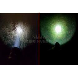 Krachtige LED Zaklamp | Oplaadbaar | 780lumen | Dimbaar | Militaire Tactical Lamp | KMFL009