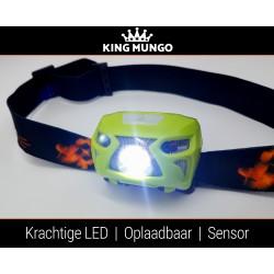 Hoofdlamp LED Oplaadbaar Waterdicht | Bewegingssensor | USB Oplaadbare | KMHL020