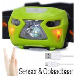 Hoofdlamp LED Oplaadbaar...
