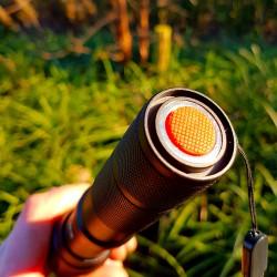 Militaire LED Zaklamp 1000 Lumen | 18650 Oplaadbare Batterij + USB Oplader - Fietshouder | KM-F16