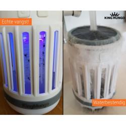 Anti Muggenlamp LED Camping Lamp | USB Oplaadbaar Insectenlamp UV Solar Wit