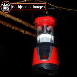 Werklamp | vislamp | kampeerlicht met extra zaklamp en afstandsbediening - KMCL002