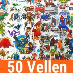 50 Vellen - 3D Foam...